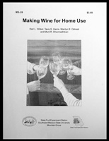 Making Wine for Home Use